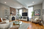 Open Concept 2 Bed/2.5 Bath Duplex Condo in Classic Downtown Jersey City Brick and Brownstone Townhouse